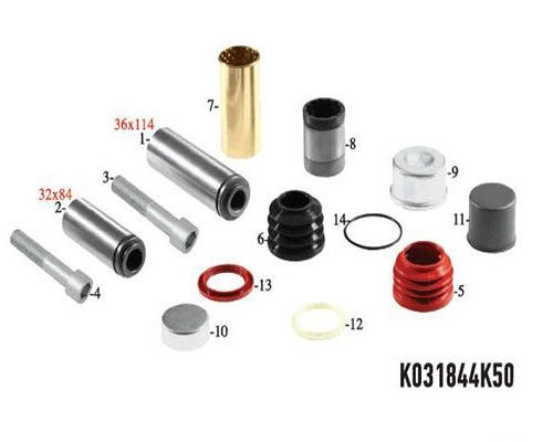 Caliper repair kit Scania