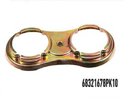 Caliper locking shim